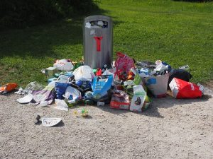 Garbage Recycling Bin
