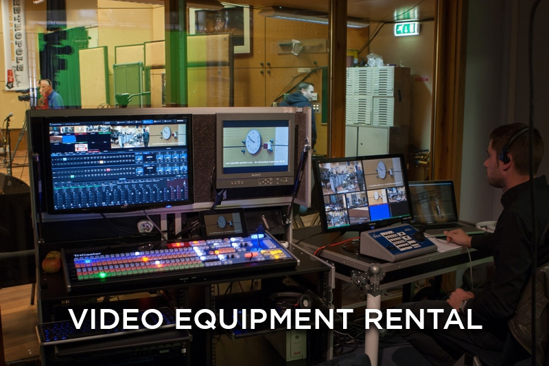 video equipment rental