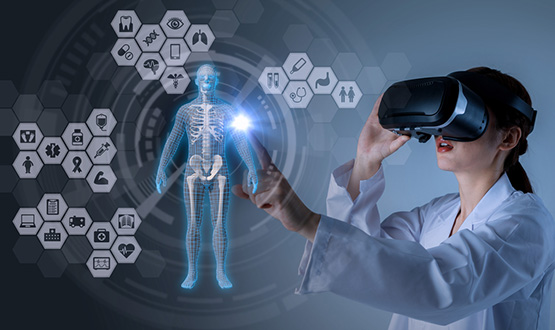 What is the use of Augmented Reality in the Healthcare Sector?